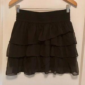 American Eagle Ruffle Mini Skirt